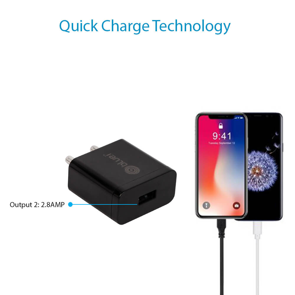CH-02 2.8 Amp Mobile Charger with 1 USB Port