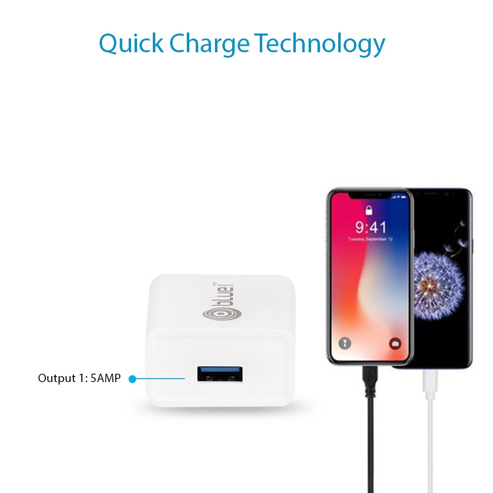 TA-01 1.8 Amp Mobile Charger with 1 USB Port