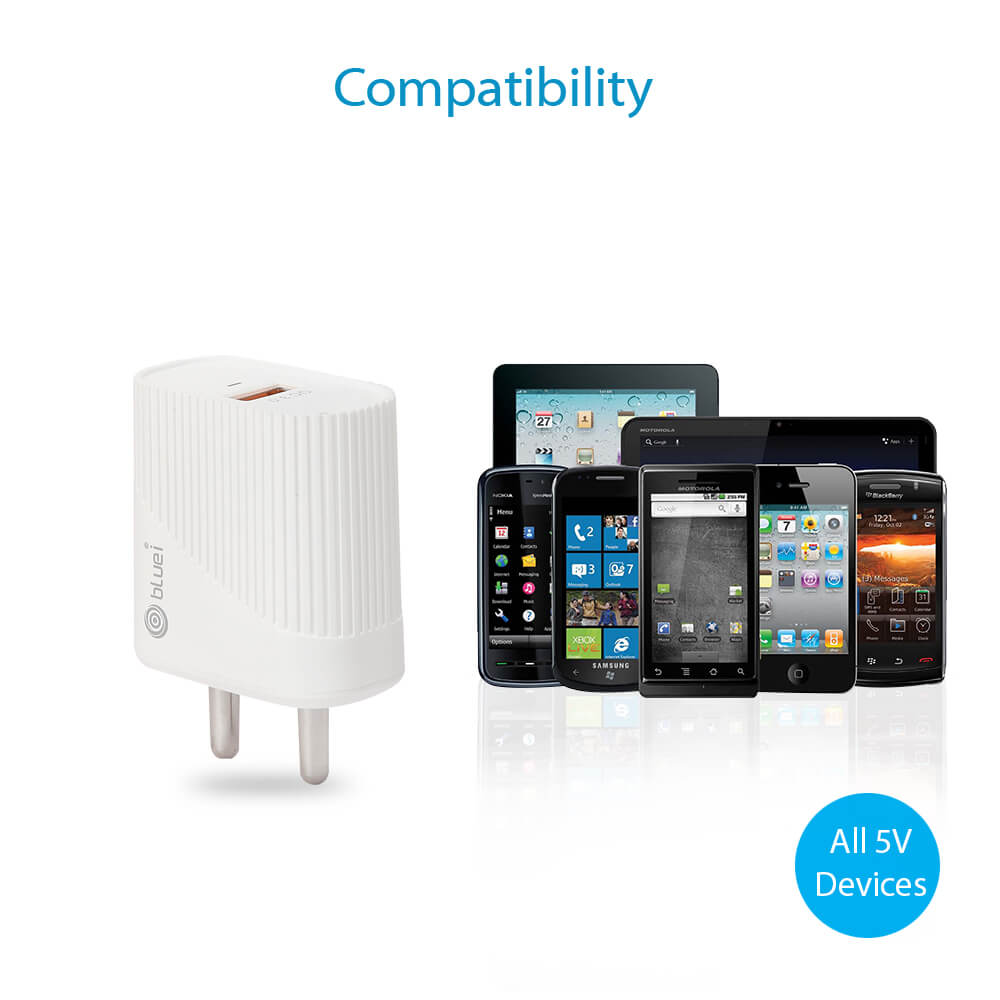 Qualcomm travel charger power adapter