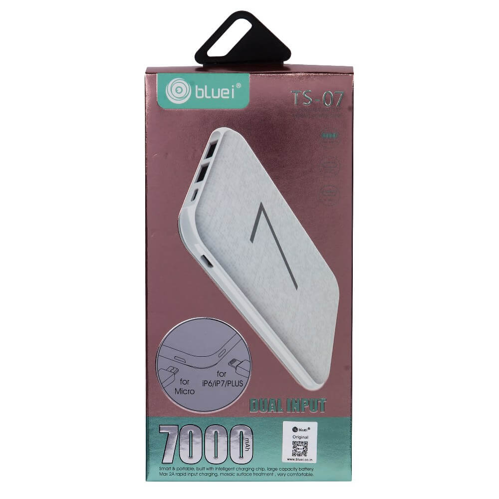 TS-07 | 7000mah Power Bank